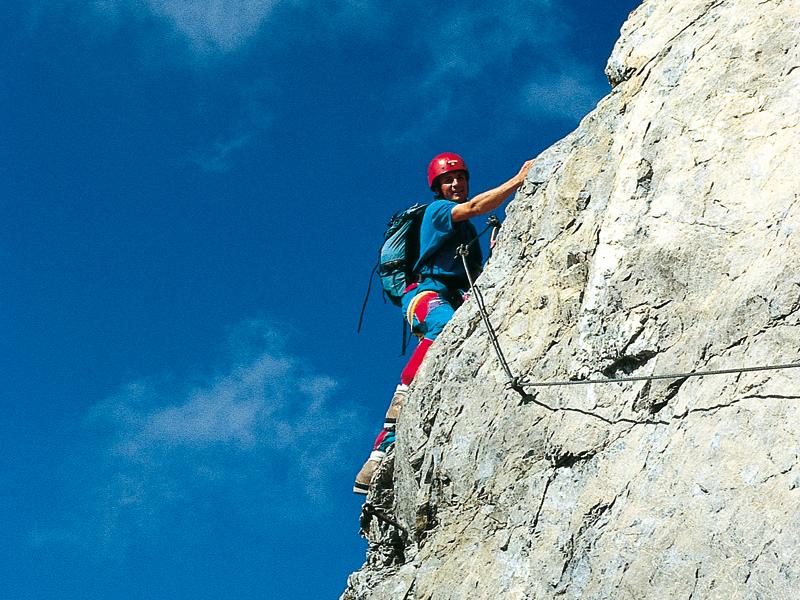 Klettersteig Nauders : Alpinschule fiss ladis klettersteige